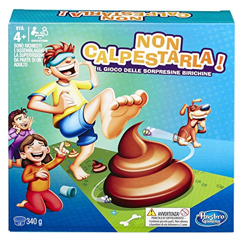 Hasbro Gaming - Non Calpestarla Gioco in Scatola, Colore Multicolore, E2489803