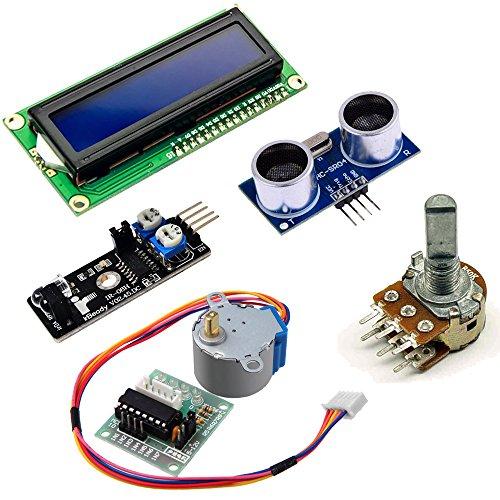 51sTExG3P1L - Kit de aprendizaje para programar KOOKYE para Arduino, Raspberry Pi none UNO R3 Starter kit for Arduino