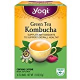 Yogi Tea Green Tea Kombucha, 16 Tea Bags, 1.12 oz (32 g)