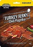 Conower Jerky Turkey Jerky, 60g Beutel , Chili-Paprika (5er Pack)
