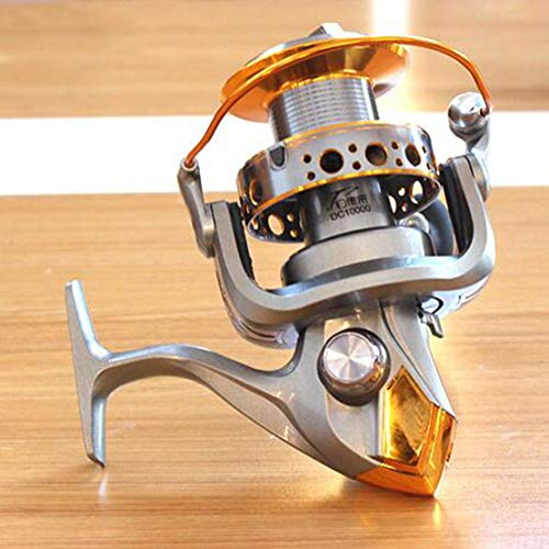 Mele 9000 10000 5.5:1 13BB Senza Cuciture Spinning Pesca Reel Carp Bass Pesca del Mare Reel Pesca Tackle,10000type