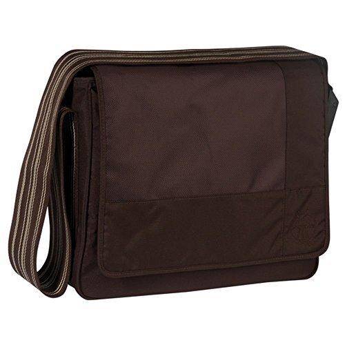 Casual Messenger Bag Patchwork, choco