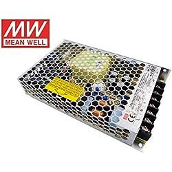Fuente de alimentacion 150W 24V 6.5A Mean Well Enclosed LRS-150-24 Power Supply AC/DC