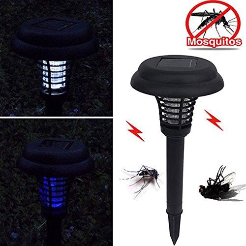 Tookie luci solari, 1PC LED energia solare Mosquito Killer luce esterna giardino prato Decor...