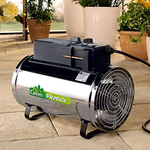 Biogreen PHX 2.8/GB Phoenix Electric Fan Heater 1.0/1.8/2.8KW