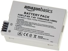 AmazonBasics - Batería de iones de litio para cámaras Canon (LP-E8)
