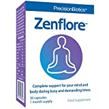 Zenflore by PrecisionBiotics | 30 Capsules Tube Pack (1 Month) | The Unique 1714-Serenitas Culture in Zenflore has Been Studied in People with Everyday Stress, Supports The Mind & Reduces Tiredness