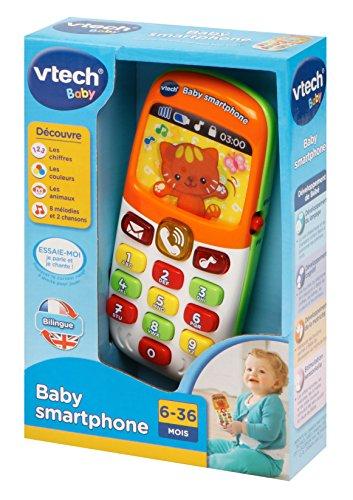 Vtech baby smartphone bilingue organise ta f te au for Baby bureau bilingue 2 en 1