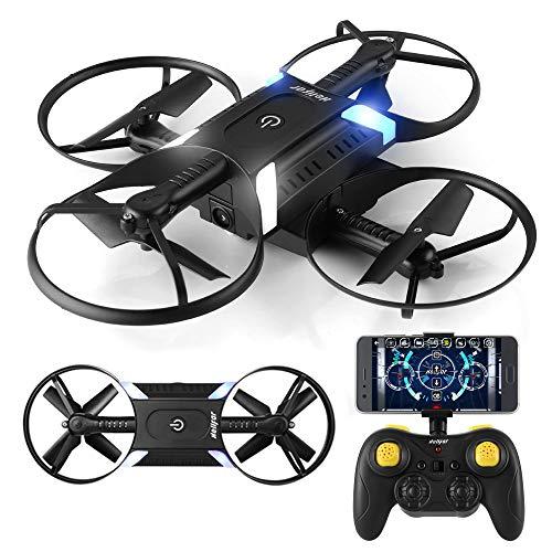HELIFAR H816 drone con telecamera, Mini drone con WIFI FPV HD 720P APP, drone Pieghevole con...