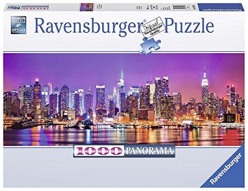 Ravensburger Italy Puzzle Panorama Luci di Manhattan, 1000 Pezzi 15078