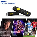 NOW TV Smart Stick with 1 month Entertainment Pass, 1 month Sky Cinema Pass + Sky Sports Day Pass | HD Streaming Media Player - Watch YouTube, Netflix, BBC iPlayer and more