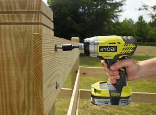 The Ryobi One+ Impact Driver, 18V is a powerful tool that drives screws much easier than drill drivers, thanks to the 220Nm torque.