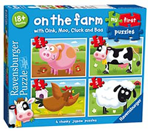 Ravensburger Italy Bambini-My First Puzzle,, 07302