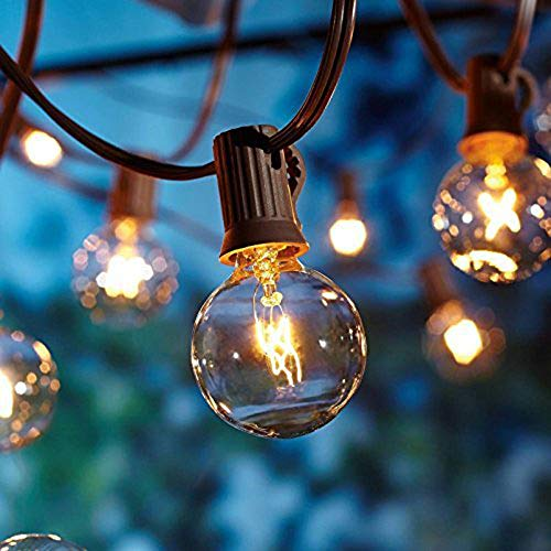 Catene luminose, luci esterne a corda, [Versione aggiornata] luci all'aperto della corda del...