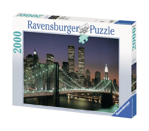 Ravensburger 16609 Ponte di Brooklyn Puzzle 2000 Pezzi