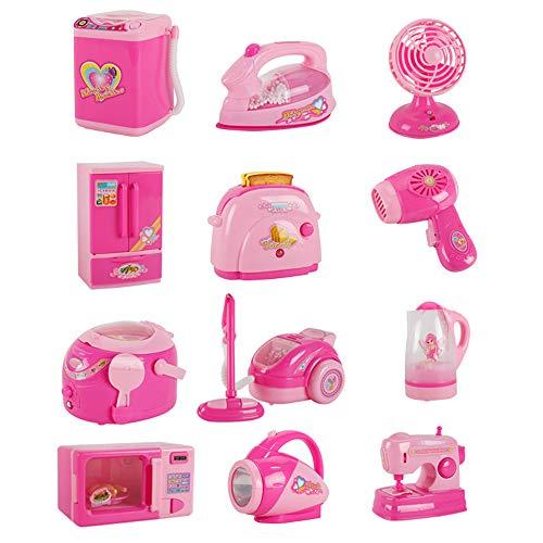 Cucina Fai finta di giocattoli Set di giocattoli per la casa dei bambini tra cui spremiagrumi...