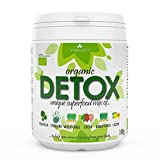 6in1 DETOX SUPERFOOD MIX 300g | Zertifiziert aus biologischem Anbau, Chlorella, Spirulina, Weizengras, Gerstengras, Lucuma & Kakaopulver | Komplett natürliches Detox-Nahrungsergänzungsmittel |Einzigartige Mischung mit 6 Zutaten |KEINE Zusatzstoffe |30 Tage Behandlung | Jetzt nur €0.66 pro Portion | BIOKRÄFTE®