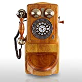 Pyle PRT45 Retro Themed Coutry Style American Heritage Wall Mount Telephone