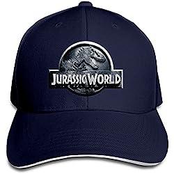 Yhsuk Jurassic World Sandwich Peaked Hat/Cap Marina