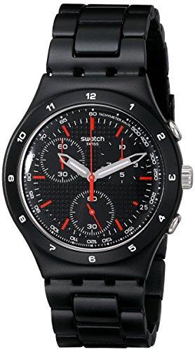 Swatch Damen-Armbanduhr Chronograph Edelstahl YCB4019AG