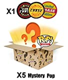 Funko POP! Mystery 6 Pack w/ 1 Random Limited Edition CHASE - Stylized Vinyl Figure Set NEW