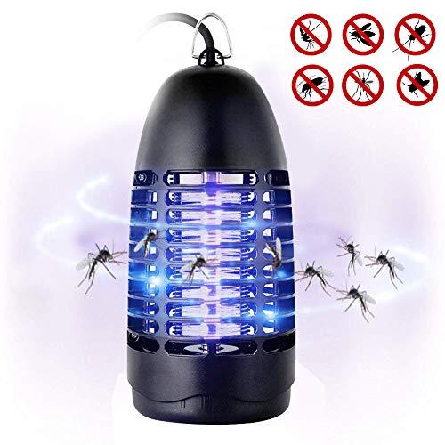 Fenvella Zanzariera Elettrica, 7W Lampada Antizanzare Elettrico Insetticida con Luce UV e Cassetto...