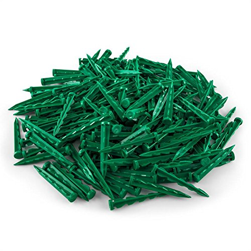 Pinkdose® 100Pcs Pegs for Robot Lawn Mower Robotic Mower Spare Parts Plugs Ground Anchors