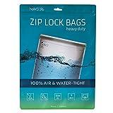 Noaks Bag XL | 5 exemplaires | Sac Étanche - Dry Bag - Poche Imperméable | 100% Imperméable à 10 m - Étanche à l'Air - Étanche aux Odeurs | Très grande taille