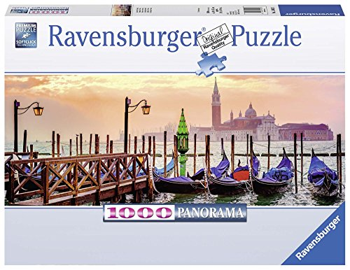 Ravensburger 15082 - Gondole a Venezia Panorama Puzzle, 1000 Pezzi