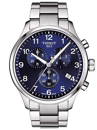 TISSOT Orologio Cronografo Quarzo Uomo con Cinturino in Pelle T1166171104701