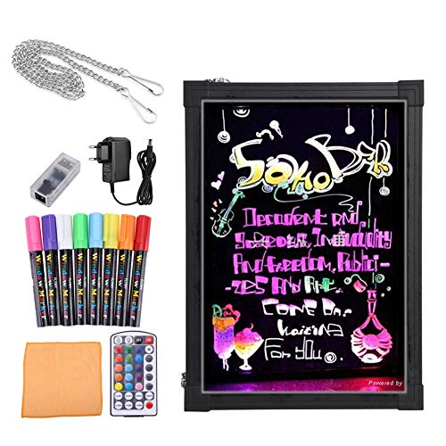 Bordo di scrittura del messaggio del LED,Lavagna Luminosa a Led Disegno Tablet LCD Drawing con...
