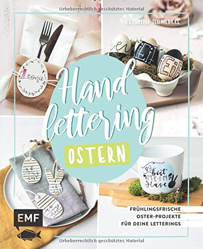 Handlettering Ostern: Frühlingsfrische Oster-Projekte für deine Letterings