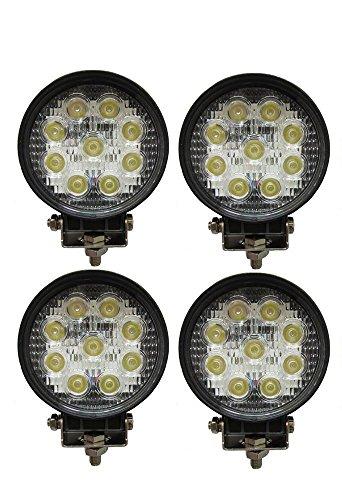 4 X 27W 4INCH LED WORK LIGHT 2565LM LED LUCE LAMPADA FARO DA LAVORO FARETTO AUTO BARCA FUORISTRADA...