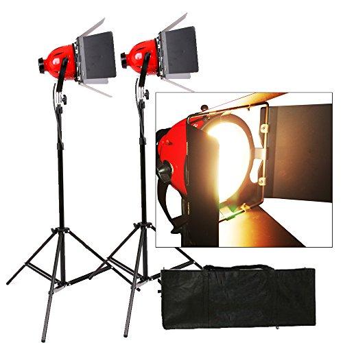 1600W 800W × 2 Video luce della testa Studio continuo Red 800W Video Luci 2Set With No Dimmer