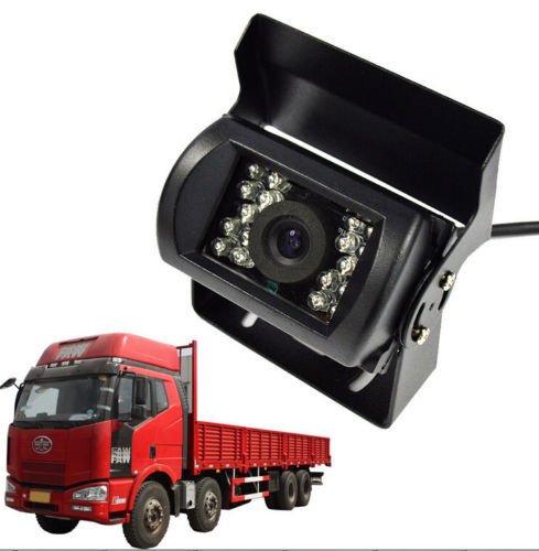 Cocar Camion Telecamera Retromarcia Impermeabile Visione Notturna Robusto Infrarossi CCD HD CCTV per Camion Auto e Furgoni MWS Non-Immagine Speculare Senza Linee di Parcheggio Assistenza - DC 12v-24v