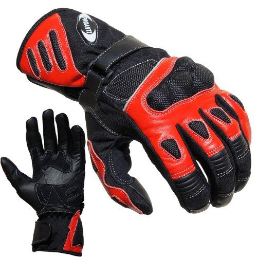 Motorradhandschuhe Summer PROANTI® Motorrad Handschuhe (Gr. M - XXL, Rot) 1