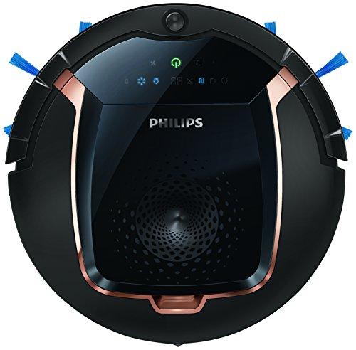 Philips FC8820/01 Robot Aspirapolvere SmartPro Active, Funzione TURBO, Programmabile per 1 Settimana