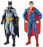 """Batman vs Superman DLN32 - Personaggi Giocattolo, 12"""", Multicolore, Confezione da 2 Pezzi"""
