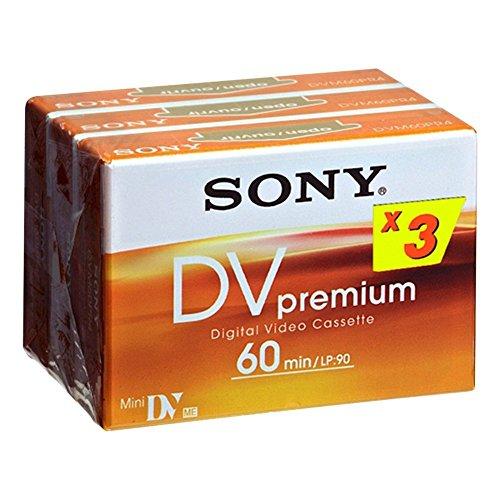 Sony PREMIUM MINI DV 3 PK-Nastro video