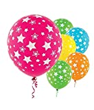 Themez Only Large Star Printed Theme Decoration Balloons Pack Of 25
