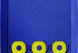 Lot de 2 disques de stationnement pour zone bleue avec 3 jetons de Caddy, Européen en plastique Bleu, M&H-24 Magasin en ligne