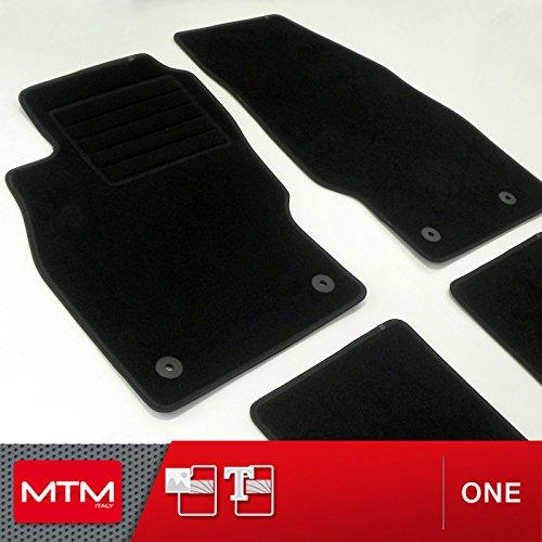 MTM Tappetini Corsa D dal 2006-11.2014 su Misura Come Originali in Velluto, Battitacco in Moquette,...