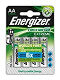 Energizer Extreme AA Rechargeable Batteries - Pack of 4
