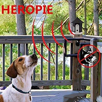 3nh Black : Dog Anti Barking Collars Repeller Dog Bark Control Trainer Device Supplies