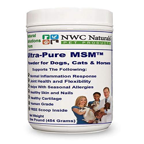 NWC Naturals Ultra-Pure MSM polvo para animales-(454g)