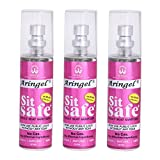Aringel Sit Safe Toilet Seat Sanitizer (50 ml Each) - Set of 3