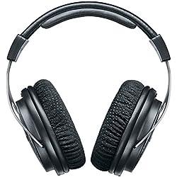 Shure SRH1540 - Auriculares Profesionales, Cerrados, Gama Alta, Negro/Plata