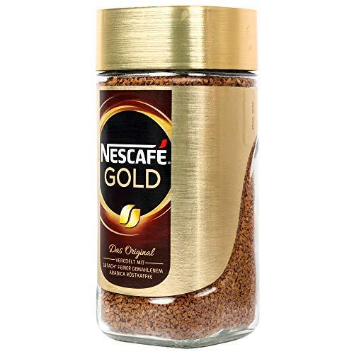 Nescafe Gold Blend Coffee Golden Roast, 200 g 5