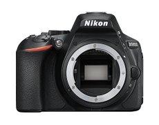 """Nikon D5600- Cámara réflex de 24.2 MP sin objectivo (pantalla táctil de 3"""", Full HD) negro, versión europea"""