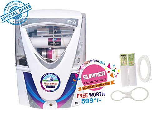 Aquagrand White Mount 6 Stage Purification 10-Litre Water Purifier